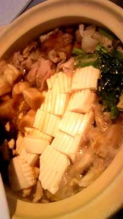 すき焼き風鍋