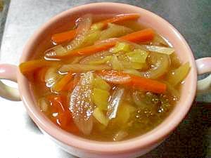 脂肪燃焼スープ(カレー風味