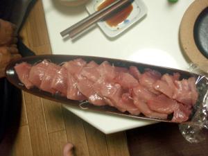 マグロの刺身~釣ったら食べまSHOW~