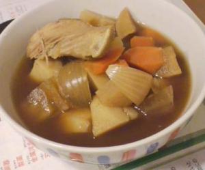 石狩鍋風具沢山スープ