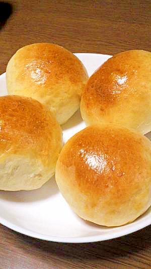 ホームベーカリーで丸めて焼くだけ☆まんまるぷちパン