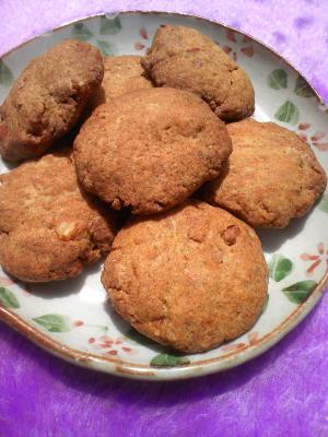 HMでキャラメルナッツクッキー
