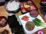 簡単★手巻き寿司