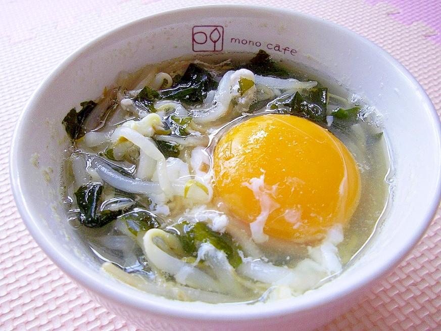 5.月見中華スープ