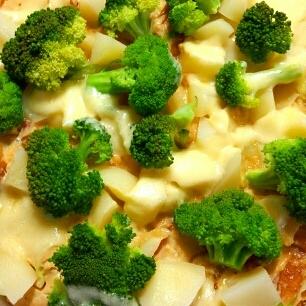 フライパンで簡単☆たっぷり野菜のキッシュ♪