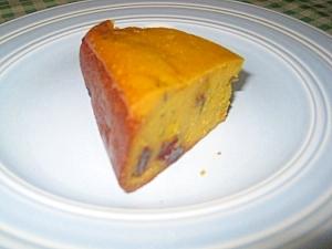 ホームベーカリーで、本格パンプキンチーズケーキ