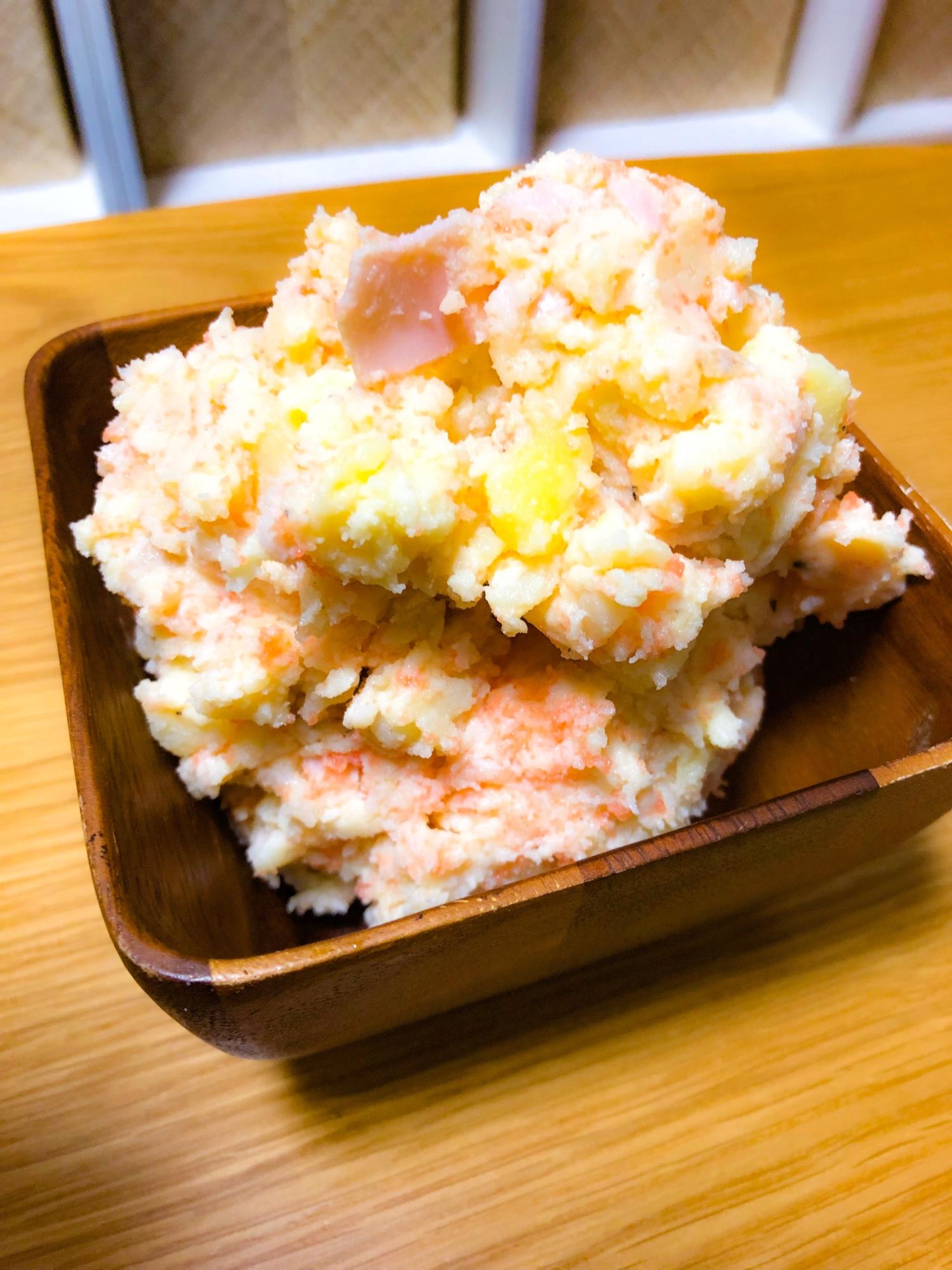 サラダ 明太 ポテト