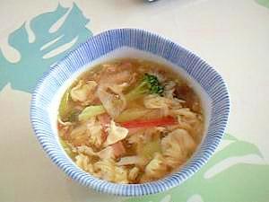 簡単なコツを抑えて!ふわふわ卵の中華スープ++