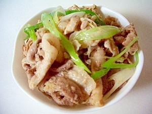 ニンニク香る、ネギ塩豚丼 レシピ・作り方