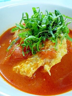 手羽先とトマトのスープ
