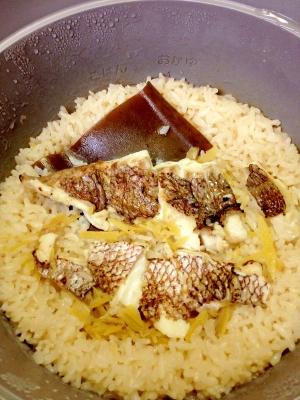 鯛の切り身で 鯛めし レシピ・作り方 by 愛犬777|楽天レシピ