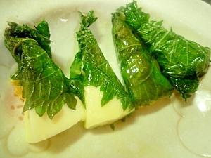 即席おつまみ★大葉チーズ