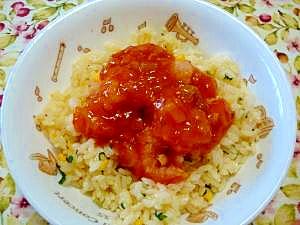 ピリ辛☆エビチリ炒飯