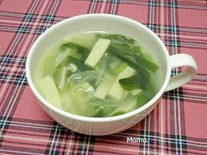 味覇で即席中華スープ