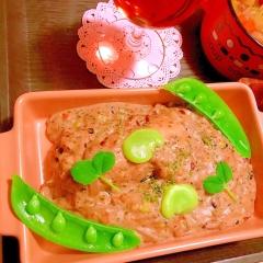 ふんわりしっとり鶏ささみのプチプチ雑穀クリーム煮