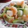 海老とチンゲン菜の塩炒めの参考画像