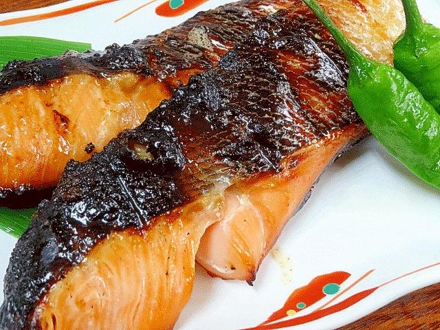 料亭風☆ 「時鮭の付け焼き(幽庵焼き)」
