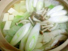 簡単にアツアツヘルシー塩麹鍋