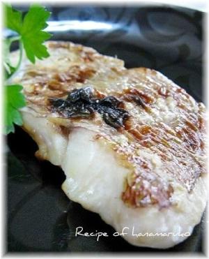 旨みがアップ!鯛の塩麹焼き レシピ・作り方 by はなまる子♪ ...