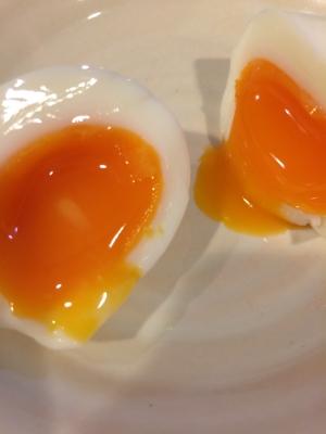 半熟卵の作り方 簡単