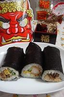 具だくさん巻き寿司