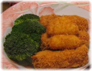安うま☆魚肉ソーセージフライ