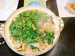 味噌仕立てのちゃんこ鍋