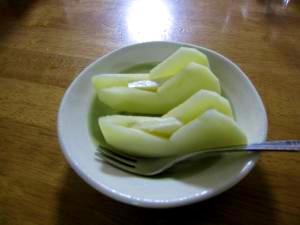 りんご&カマンベールチーズ