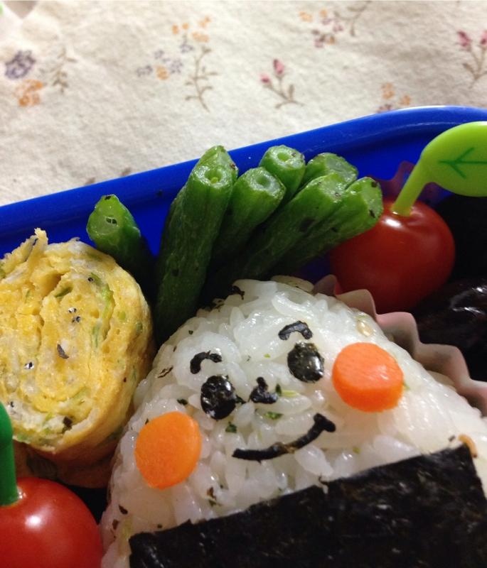 お弁当に☆いんげん豆の塩バジル