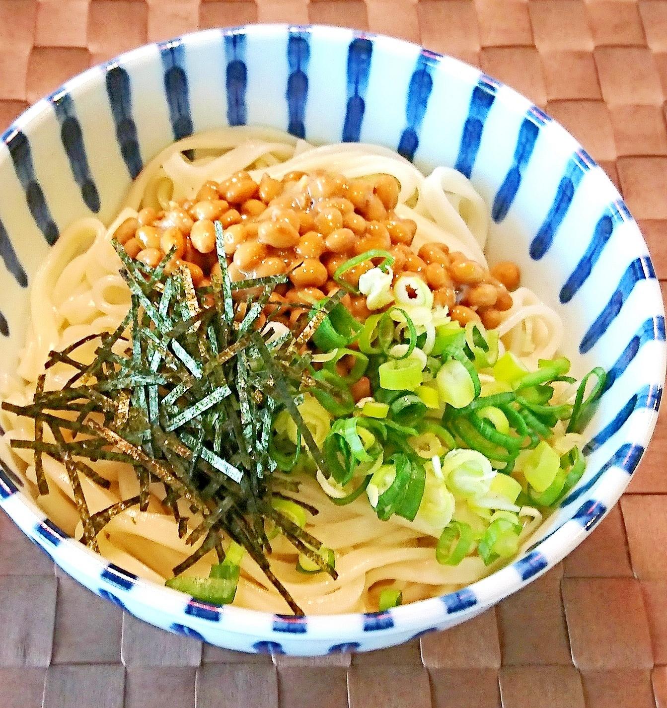 つるネバ「納豆うどん」のレシピ