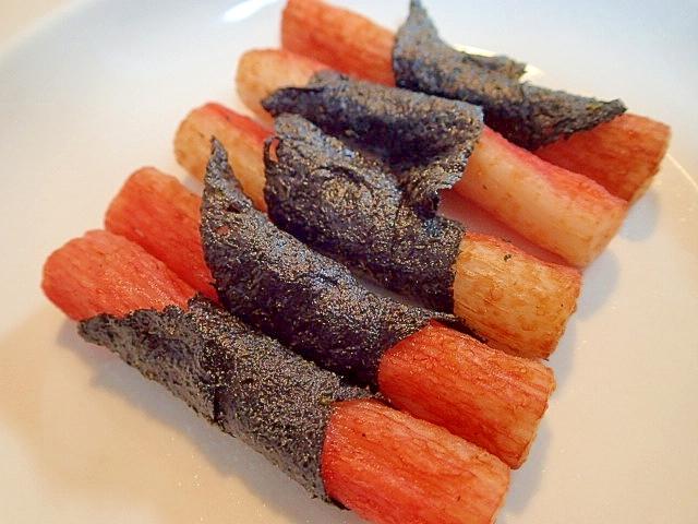 お弁当 ❤かにかまの海苔巻き天❤ レシピ・作り方