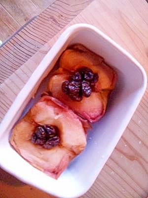 ダッチオーブンで☆焼きりんご