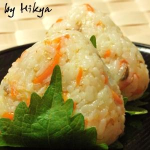 サバ寿司の大葉おにぎり