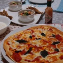 ホールトマト缶で簡単ピザソース