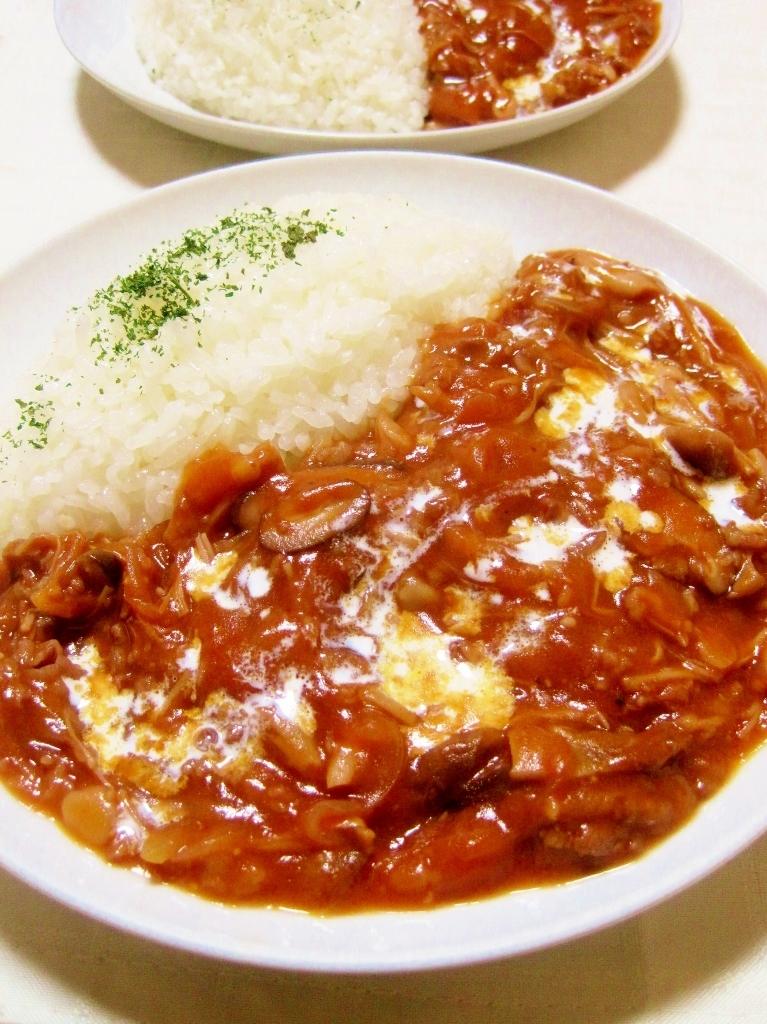 トマトジュースde簡単すぎハッシュド・ビーフ レシピ・作り方 by YAMAT☆|楽天レシピ