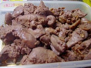 常備菜★鶏レバーの生姜煮