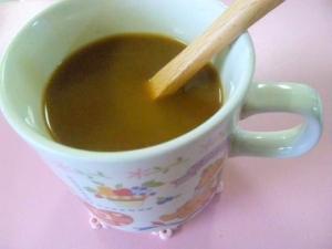 風邪予防!良質たんぱく質摂取♪きなこミルクコーヒー