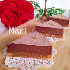 焼かない✨材料(4)✨超濃厚✨生チョコタルト