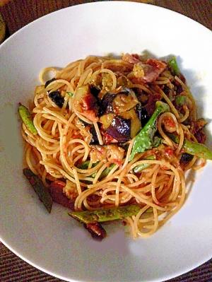 季節の野菜を使った簡単スパゲッティメニュー