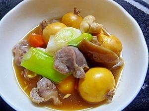 キンカン煮(我が家の定番)