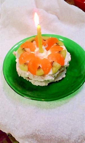 1才でも食べれる!お誕生日ケーキ