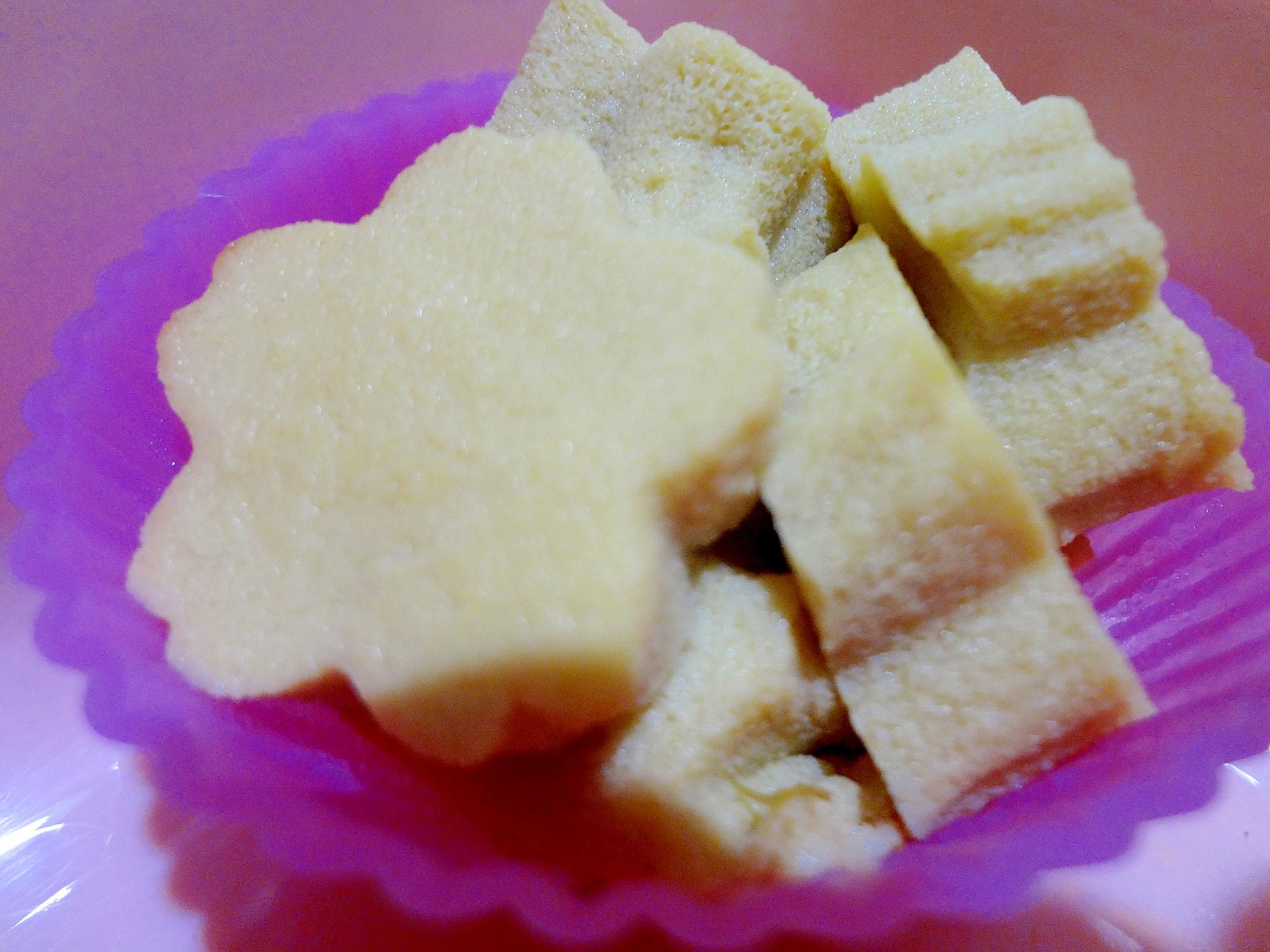 高野豆腐の生姜煮