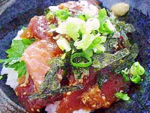 生姜漬けマグロ丼♪