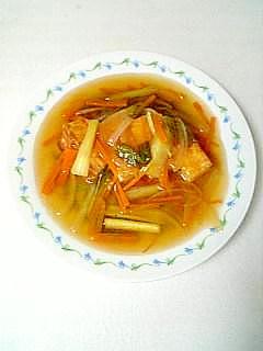 とろ~り☆厚揚げの野菜あんかけ☆