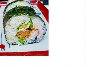 いわしの巻き寿司