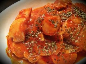 鶏肉のトマト煮込み☆トマトジュースを使って◎