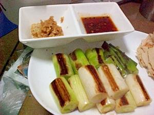 ●ねぎの甘みが凝縮☆フライパンでシンプル焼ねぎ● レシピ・作り方
