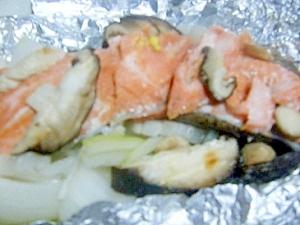 鮭のホイル焼き★