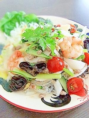 【タイ料理】ラープガイ(鶏ひき肉サラダ)のレシ …