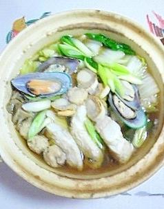 寄せ鍋スープで作る、真鱈の鍋物
